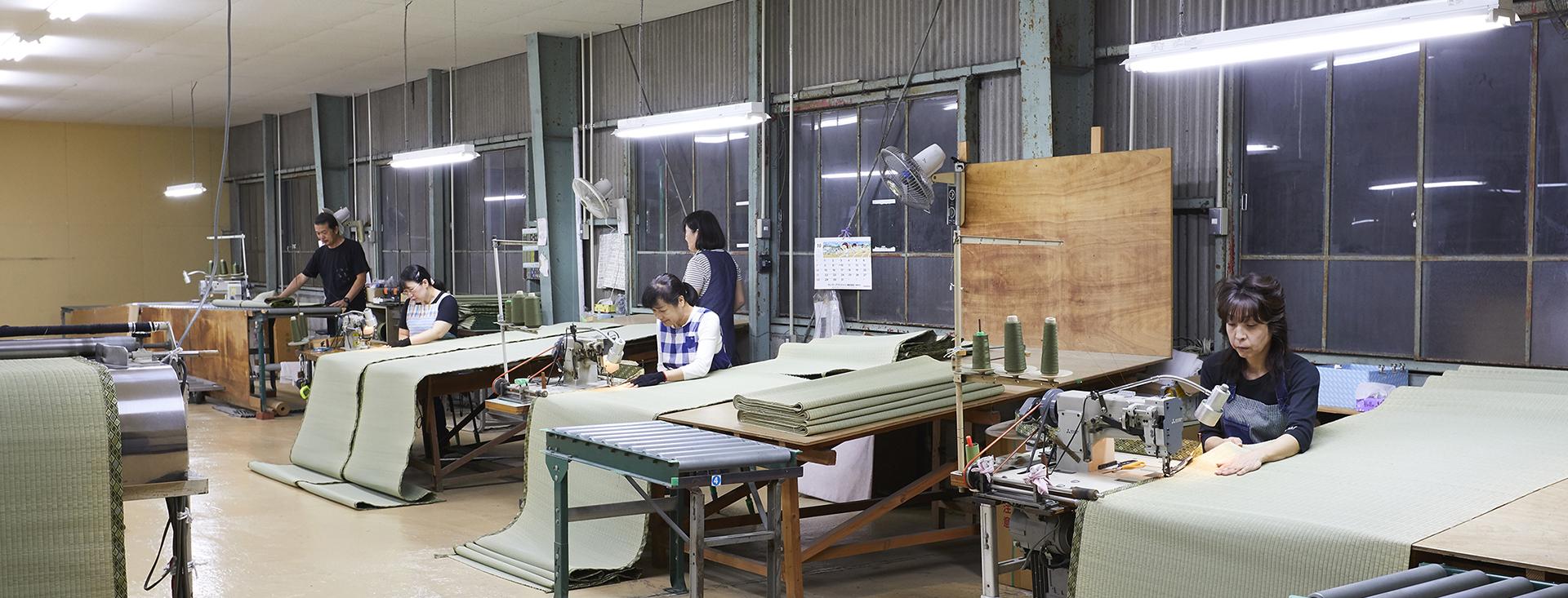 縫製加工部のこだわり